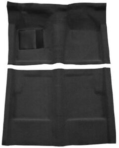 New! 1960 - 1965 Ford Falcon Carpet Set Black Molded w/ backing and Heel Pad