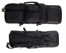 "33"" Rifle Gun Case Bag Tactical Hunting Target Range Airsoft Backpack Holder BK"