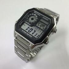 Men's Casio World Time Digital Watch AE1200WHD-1A