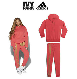 SET OF HOODIE & PANTS Adidas IVY PARK Beyoncé limited collection RED