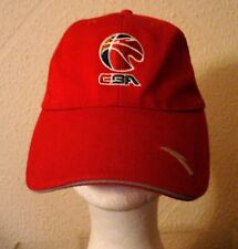 CBA Chinese Basketball Association ORIGINAL RED CAP HAT from ANTA VERY NICE!!!!!