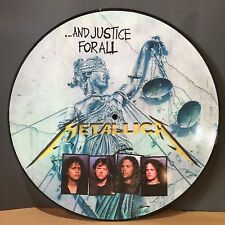 Metallica - And Justice For All - 180g Picture Disc Vinyl LP