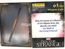 Doctor Strange Movie Trading Card - 1x #063 Weapon card foil-TCG