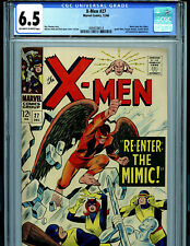 Uncanny X-Men #27 CGC 6.5 1966  Marvel Comics Mimic B19