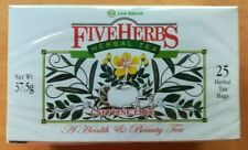 Link Natural Five Herbs Ayurveda Herbal Tea 25 Bags Health & beauty Tea