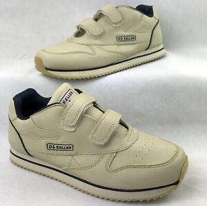 DR KELLER Mens Trainers Size UK 6 EU 39 1/2 Beige Cushioned Shoes
