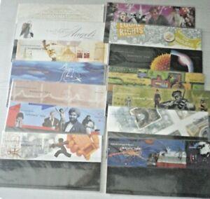 Royal Mail GB Presentation Pack job lot x 60 packs Mint NO STAMPS 1999-2014
