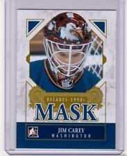 JIM CAREY 13/14 ITG Decades 1990s Mask #DM-11 SP Insert Card Washington Capitals
