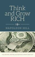 Think and Grow Rich by Napoleon Hill (2015, Hardcover) Book