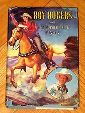Roy Rogers And The Gopher Creek Gunman Don Middleton Hbdj Whitman 1945 L1