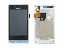 Genuine Sony ST23i Xperia Miro White LCD & Touchscreen - 124AFM00001