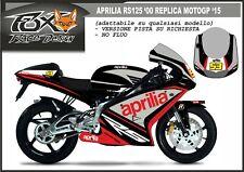 ADESIVI stickers moto bike KIT per APRILIA RS 125 1999 REPLICA MOTOGP 2015