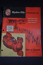 1960 Hydro Flow Products For Heating & Cooling with Water Brochure
