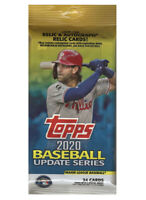 Topps 2020 Baseball Update Series Fat Value Pack Lot Of 4 Sealed EXCLUSIVE RED