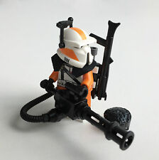 Lego Star Wars Custom 212. Commando Clone Trooper + Custom Equipment & Mini Gun