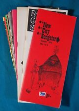 12 Issues of the New City Songster 1970 - 1981 Folks Songs Lyrics and Music