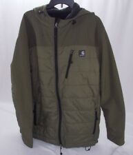 CARHARTT Mens Soft Shell Hybrid Jacket Softshell Army Green J294 XL