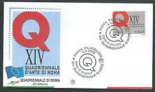 2005 ITALIA FDC FILAGRANO QUADRIENNALE DI ROMA - FG2005