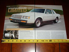 1987 Buick Turbo T Grand National - Original 2009 Article