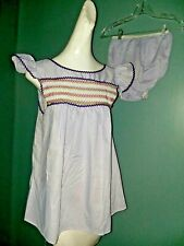 nos Vintage 60s Babydoll Bloomers Sissy Pajamas Lingerie Set Lilac MINT Pin Up M