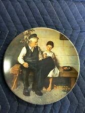 "1979 Knowles Norman Rockwell ""The Lighthouse Keeper's Daughter"" Collector Plate"