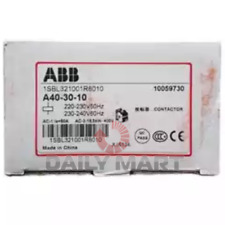 New In Box Abb A40 30 10 Contactor