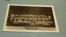 1950's 1927 New York Yankees Baseball Team Photo RPPC Postcard Ruth Gehrig