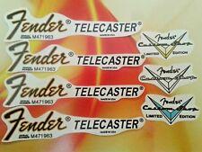 Fender telecaster decal