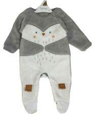 New Nutmeg Baby Girls Boys Cute Penguin Warm Fleece All In One Onezee Sleepsuit
