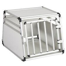 Hundebox Transportbox Autotransportbox Alu Hund Gitterbox Reisebox XDLGL006WS2