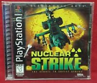 Nuclear Strike - Playstation 1 2 PS1 PS2 Game Complete Tested Working