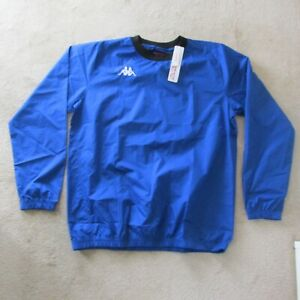 KAPPA Gaggio Pull Over Windbreaker  - Blue - L