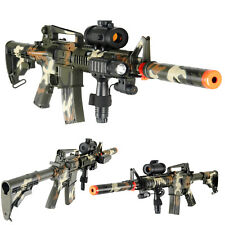AirSoft Double Eagle M4 AEG Replica Automatic Assault Rifle m83A2 M83 Gun CAMO