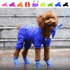 New Waterproof Dog Boots Puppy Shoes Protective Anti-slip Apparel for Small Dogs