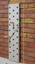 MaxGym® Trainingsboard Steckbrett Klettergriffe Seitenlänge