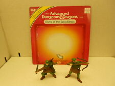 Advanced Dungeons & Dragons LJN Elves of the Woodlands Complete With Card