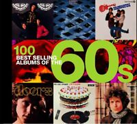 100 BEST ALBUMS OF THE 60's by Gene Scullati Paperback Book The Fast Free
