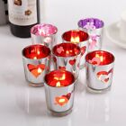 Glass Tealight Votive Candle Holders Wedding Dinner Valentine Gift Xmas Decor x1
