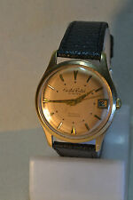 """Cristal Watch"" ~21J cal.AS 1506/07 Circa 1966's Date GP Swiss Men's Wristwatch"