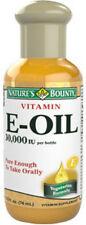 2.5oz Vitamins E-OIL 30000IU Nature's Bounty Supplement Antioxidant Immune Skin