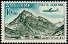 "ANDORRE FRANCAIS STAMP TIMBRE AERIEN N°8 "" VALLEE D'INCLES 10F "" NEUF xx TTB"