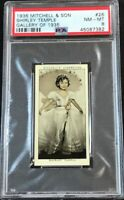 1936 Mitchell & Son Gallery of 1935 #26 Shirley Temple PSA 8 NM-MT
