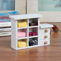 Wooden toys mini cupboard shooting props dolls house furniture accessories tdJCA