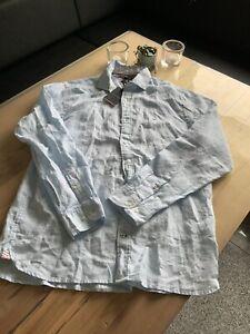 Tommy Hilfiger  Leinen Hemd   XL Regular Fit   NEU