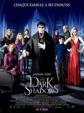 Affiche Roulée 120x160cm DARK SHADOWS 2012 Tim Burton - Johnny Depp, Eva Green