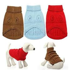 Dog Pet  Winter Warm Sweater Knitwear Puppy Outwear Apparel More Size And Color