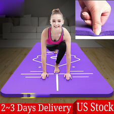 10MM Thick Durable Yoga Mat Non-slip Exercise Fitness Pad Mat Lose Weight US Hot