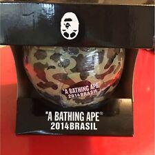 2014 World Cup A Bathing Ape Bape Camo Ball Soccer Size 5 Official Japan New