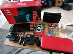Nintendo Switch V2 Console Boxed Bundle