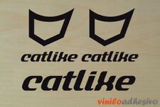 PEGATINA STICKER VINILO Bicicleta Catlike casco helmet autocollant aufkleber